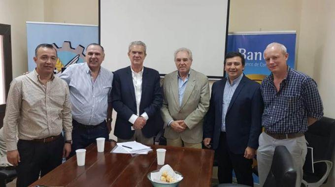 Egui Benítez participó de una reunión para potenciar el sector foresto industrial