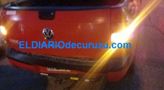 Accidente entre dos camionetas, una secuestrada y alcoholemia positiva