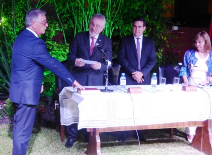 Juró como presidente del Honorable Concejo Deliberante Rodolfo Santini