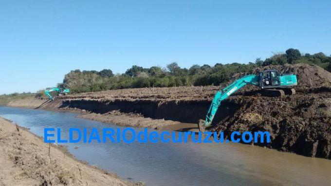 """""""La canalización de los arroyos, es una obra que comprende unos 16 km"""""""