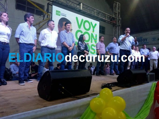 """Valdés: """"José Irigoyen es el mejor Intendente de los últimos años en Corrientes y de Curuzú Cuatiá"""""""