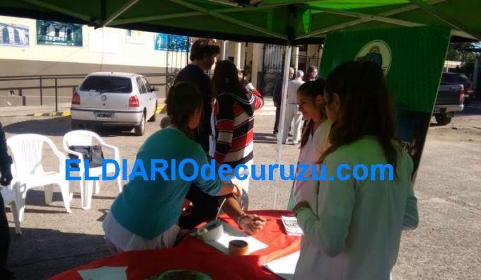 El Hospital Fernando Irastorza realizó controles por el Día Mundial de la Hipertensión