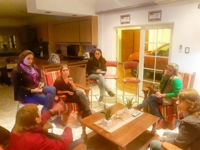 Elena Soto se reunió con agrupaciones protectoras de animales