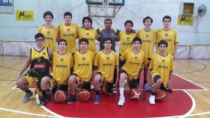 Belgrano avanzó al Final Four de la categoría U 15