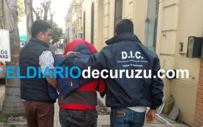 Trasladaron a Curuzú Cuatiá a uno de los supuestos autores del violento robo