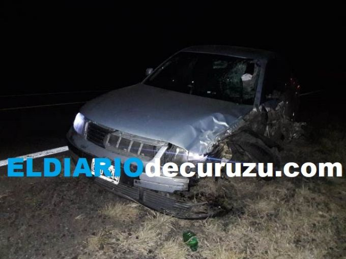Falleció motociclista curuzucuateño en accidente de tránsito
