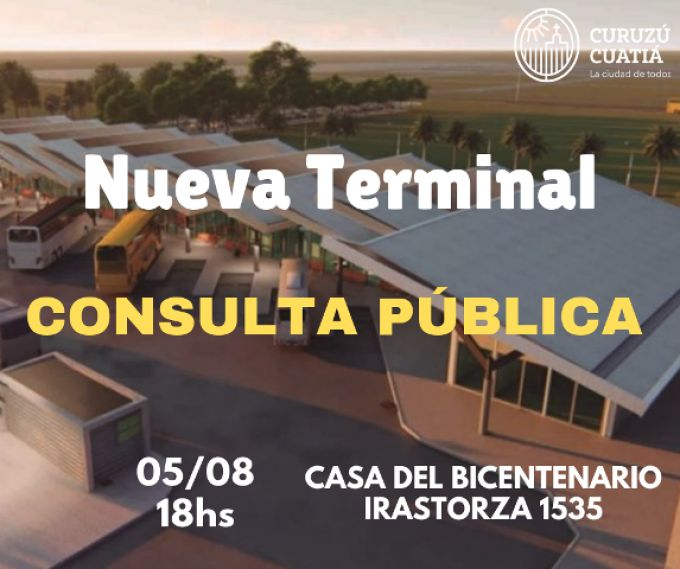 Nueva Terminal de Ómnibus de Curuzú Cuatiá: la convocatoria a consulta pública ya tiene Fecha