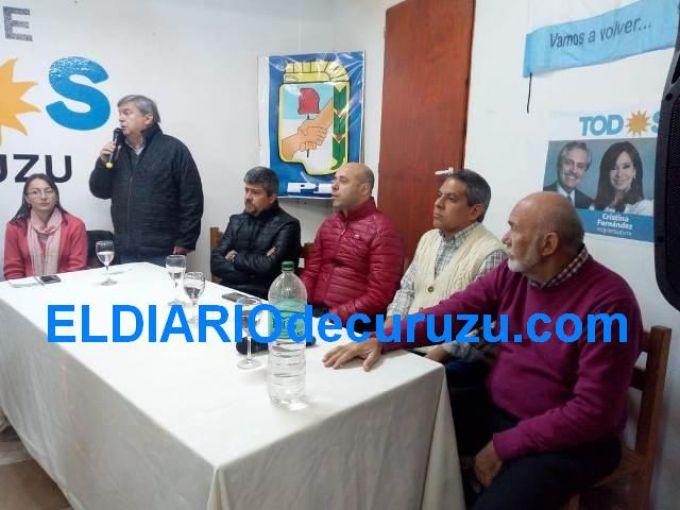 """Jose Corradini: """"La idea principal es que haya un resultado contundente llevando al poder a Fernández- Fernández"""""""