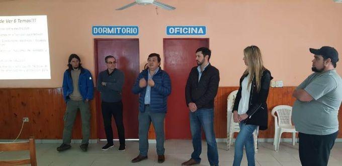 Comenzó la capacitación en Electricidad en Baja Tensión en la ciudad de Juan Pujol