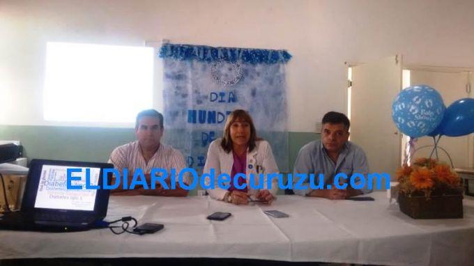 Se realizó el lanzamiento de la semana Mundial del Diabético en el Hospital Fernando Irastorza