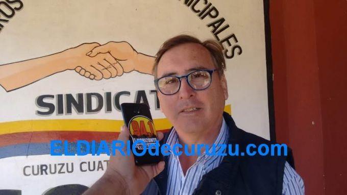 """""""Estamos esperando la respuesta del Intendente Irigoyen sobre a propuesta del bono navideño"""""""