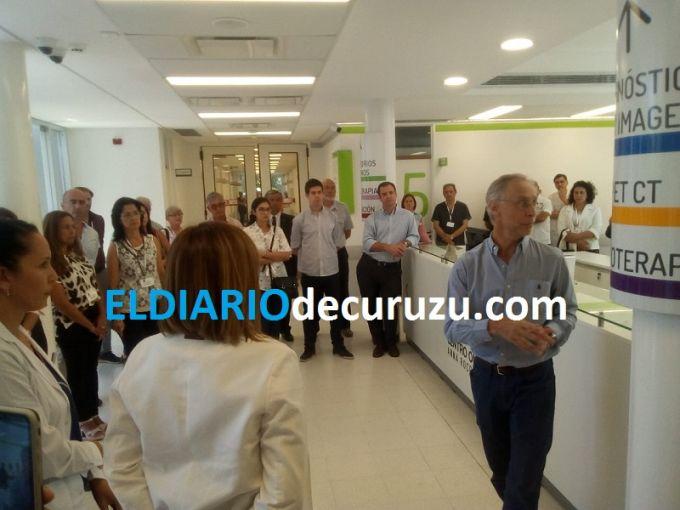 Por el momento en el Centro Oncológico se realizarán tratamientos ambulatorios y diagnóstico