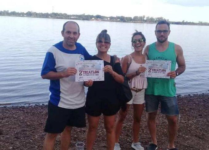 """Nadadores de AcuAA participaron del 2º Triatlón, """"La Magia de un Lugar"""""""