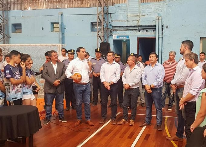 Egui Benitez acompañó al Gobernador Valdés en su visita al sur provincial