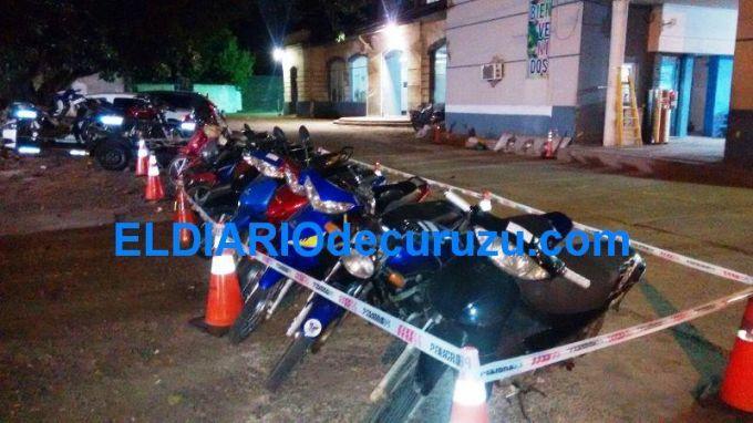 Dos vehículos y 15 motocicletas retenidas por la Dirección de Tránsito