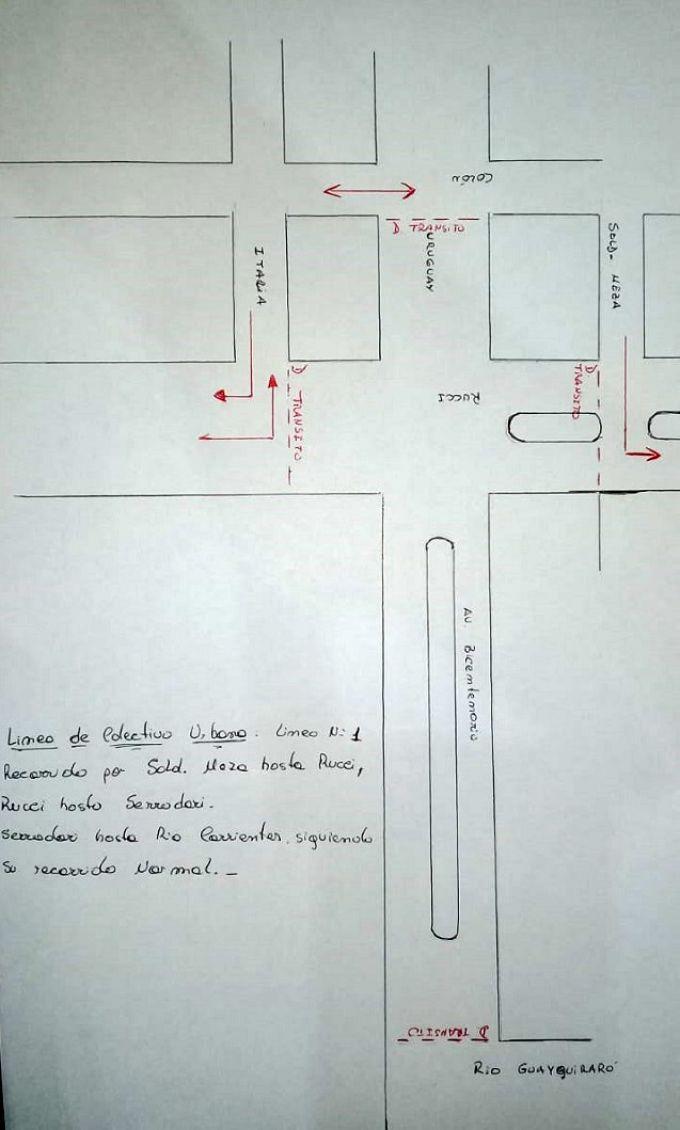 Así será la circulación vehicular en los días de carnaval en la zona cercana al corsódromo