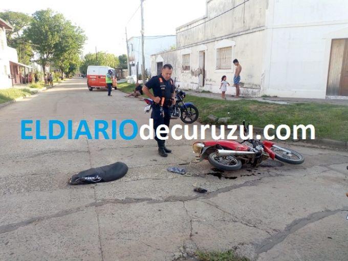 Dos mujeres y un menor fueron llevados al hospital luego de protagonizar accidente