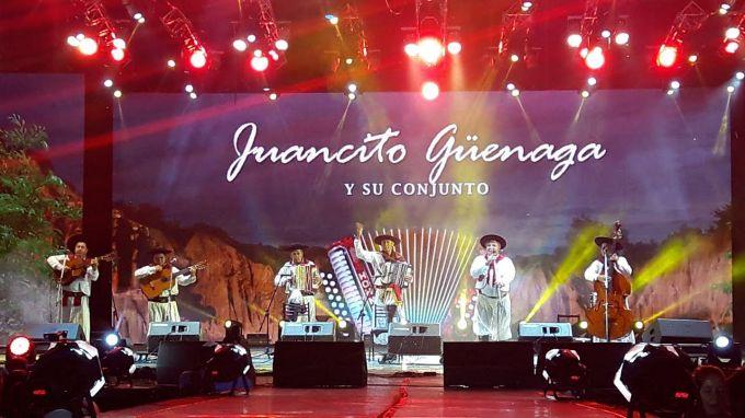 Juancito Güenaga y 29 años ininterrumpido en la Fiesta Nacional del Chamamé