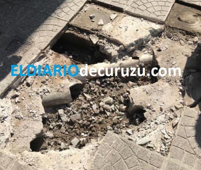 Vecinos molestos con la empresa encargada de la instalación del Gas Natural en Curuzú Cuatiá