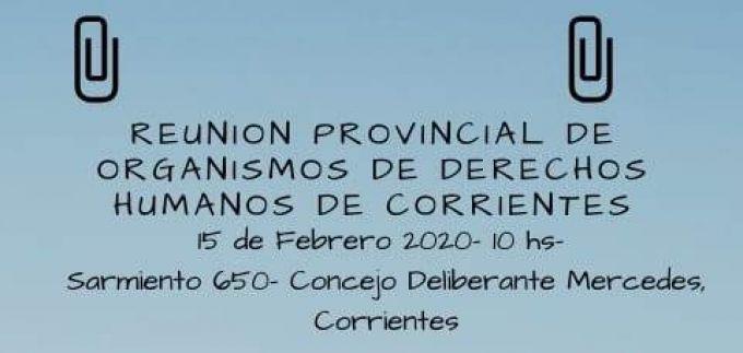 Se reunirá el Foro Provincial de Derechos Humanos en Mercedes