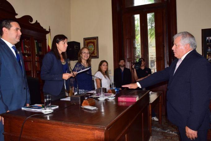 Juró como presidente del Honorable Concejo Deliberante el concejal Marcos Isusi