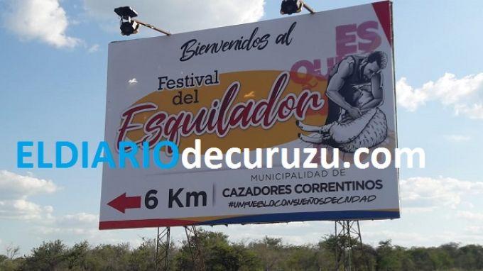 """""""XVI° Festival Provincial del Esquilador"""" de Cazadores Correntinos"""