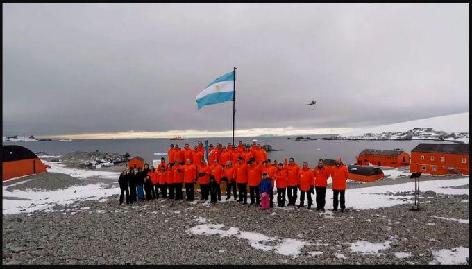 Cómo viven la pandemia los argentinos en la Base Esperanza en la Antártida