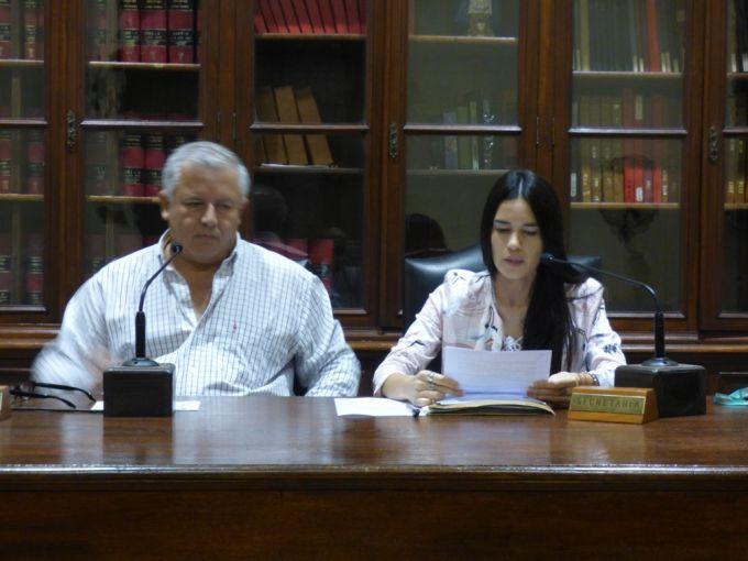 Sesión especial del Concejo Deliberante