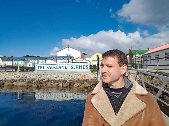 Daniel Ujhelly estuvo en las Islas Malvinas y comentó lo que es la vida en el lugar