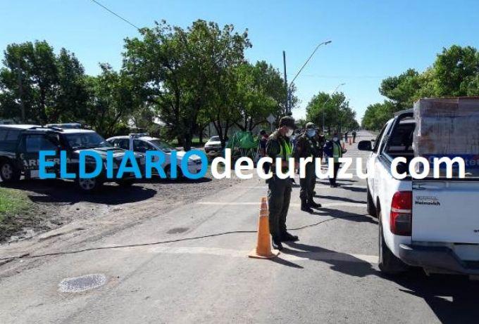 Gendarmería Nacional ya labró más de cien actas de infracción a la Cuarentena Obligatoria