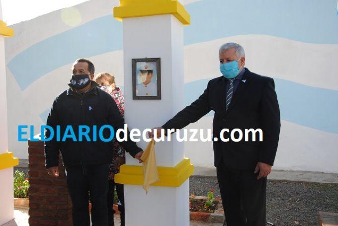 """Entre Gran Malvina y Soledad, está la Plazoleta """"Ramón Antonio Meza"""""""