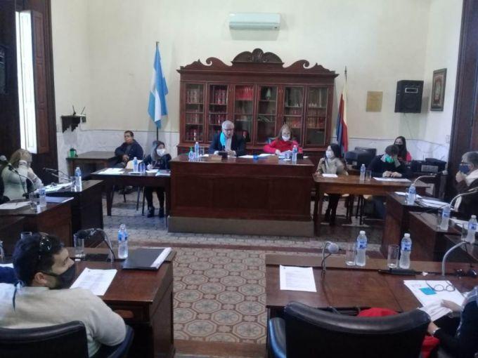 Sesión matutina del Concejo Deliberante