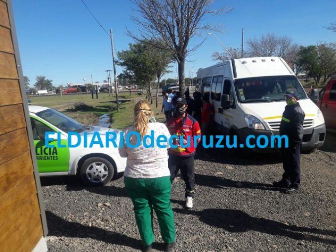 Llegaron los Esquiladores Curuzucuateños varados en Tierra del Fuego