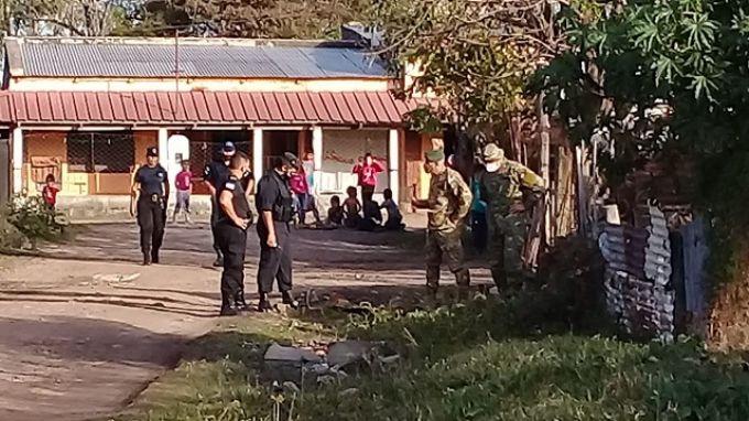 Monte Caseros: Encontraron un explosivo antiguo sin detonar