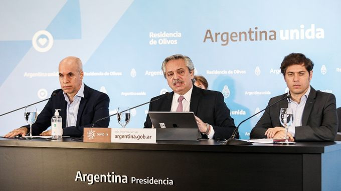 """Alberto Fernández: """"Vamos a ampliar el aislamiento social por 21 días"""""""