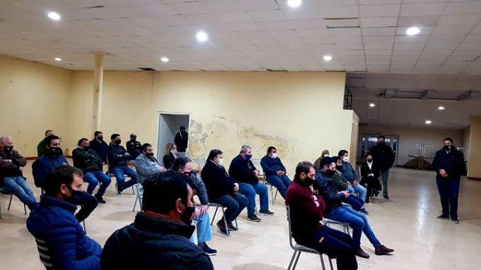 Reunión de la Asociación de Comercio con autoridades locales