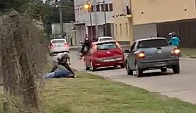 Fue en una colisión: Dos automovilistas fueron detenidos tras intercambio de golpes