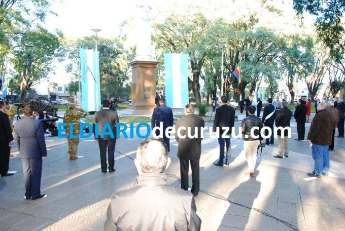 Curuzú Cuatiá recordó el 204° Aniversario de la Independencia Argentina