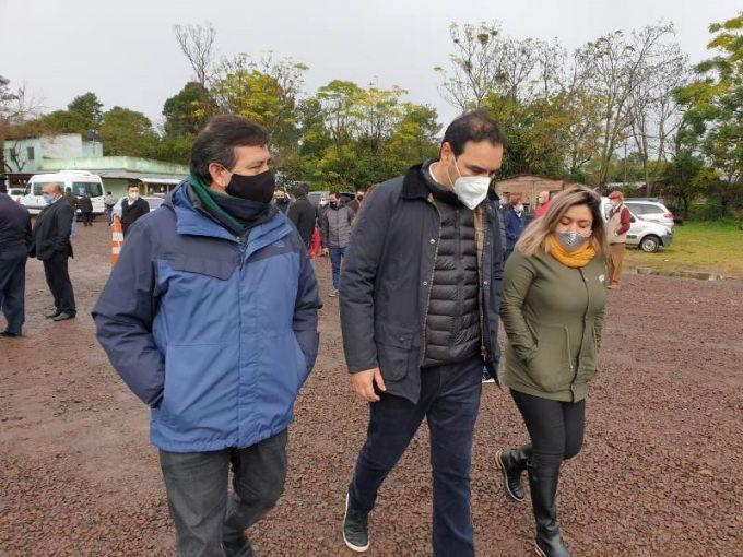 El Sub secretario de Industria de la provincia acompañó al gobernador Gustavo Valdés por Villa Olivari e Ituzaingó