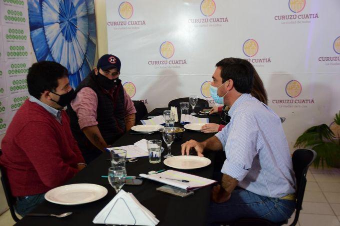 Mario Alberto Villa se llevó nuevamente el primer premio del XIII Festival del Locro curuzucuateño
