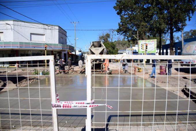 Calles cerradas por bacheo y repavimentación
