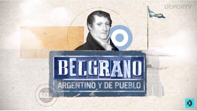 """El Club Belgrano de nuestra ciudad será parte del ciclo de TV """"Belgrano, argentino y de pueblo"""""""