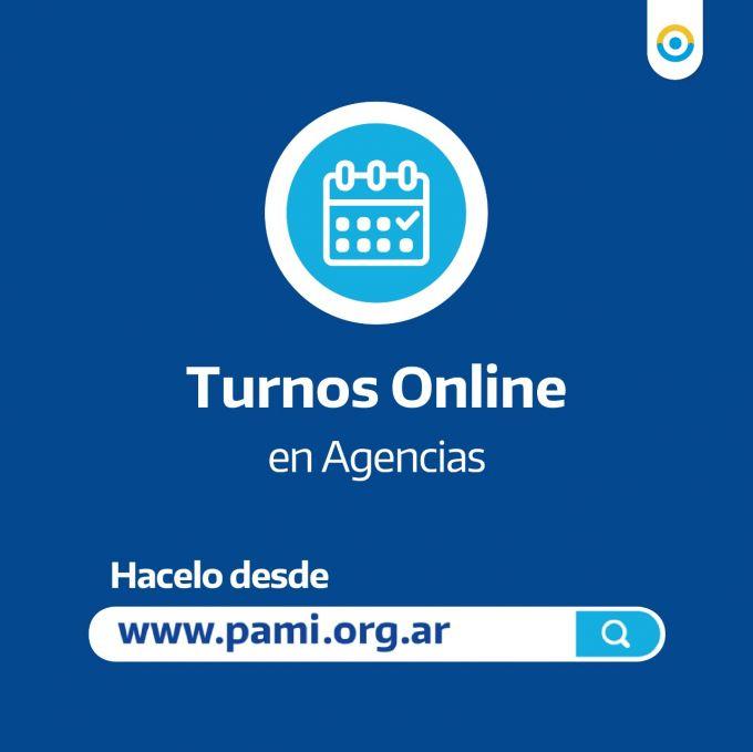 Las Agencias PAMI atienden solo con turno online
