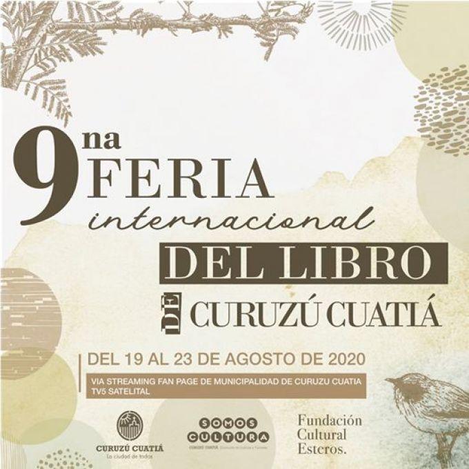 Se viene la 9na Edición de la Feria del Libro de Curuzú Cuatiá