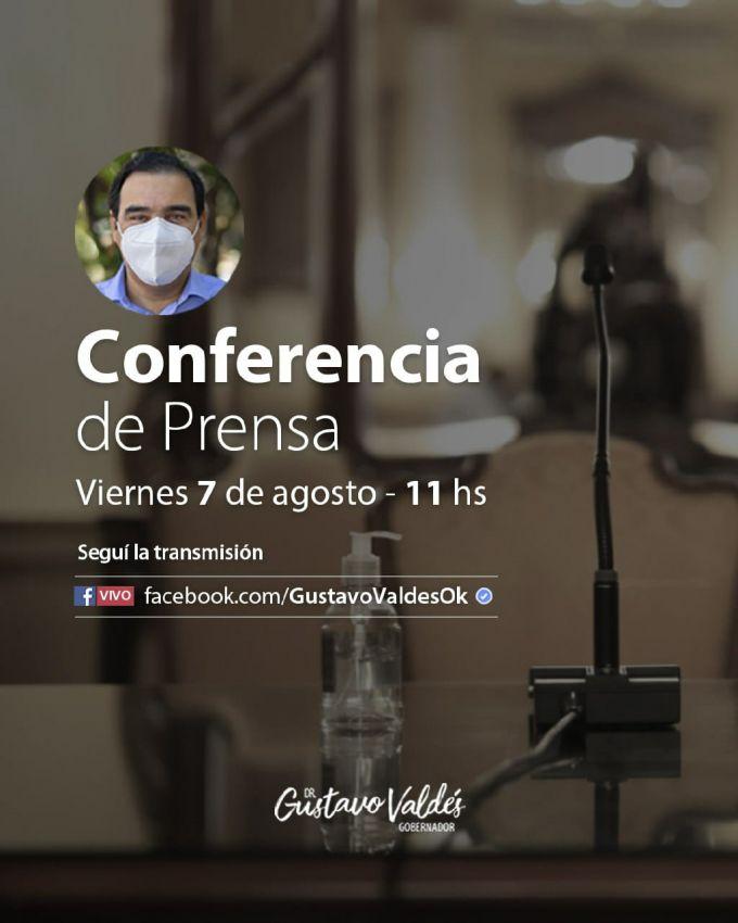 Conferencia de Valdés: se esperan nuevas medidas sanitarias